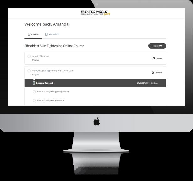 Fibroblast Skin Tightening / Plasma Pen Online Course Training best cheap